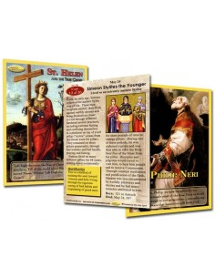 Holy Traders Set No. 6 Saint Trading Cards