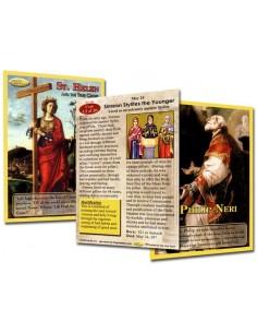 Holy Traders Set No. 6 Saint Trading Cards