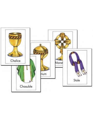 Vessels and Vestments Poster Cards