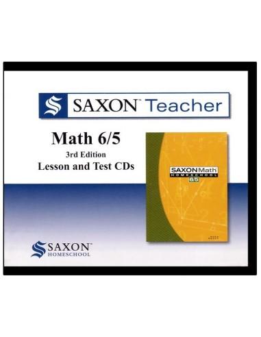 Saxon Teacher Math 65 3rd Edition