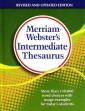 Merriam-Webster's Intermediate Thesaurus (Grades 5-6)