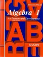 Saxon Algebra 1 (3rd edition) Text & Test Key