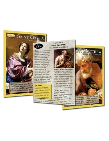 Holy Traders Set No. 5 Saint Trading Cards