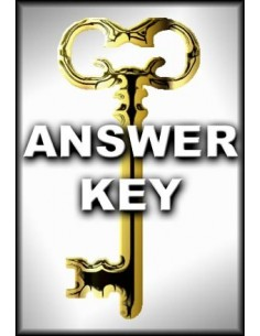 Book of Gladness Answer Key