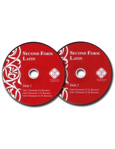 Second Form Latin Pronunciation CD