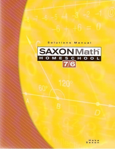 Saxon 76 (Homeschool