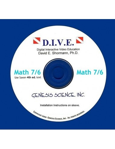 Math 76 4th ed/Homeschool Dive Into Math CD
