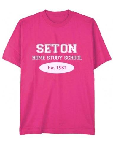Seton T-Shirt: Est. 1982 Pink - Youth Med.