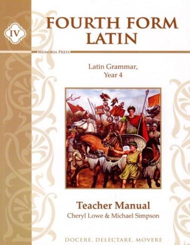 Fourth Form Latin Teacher Manual