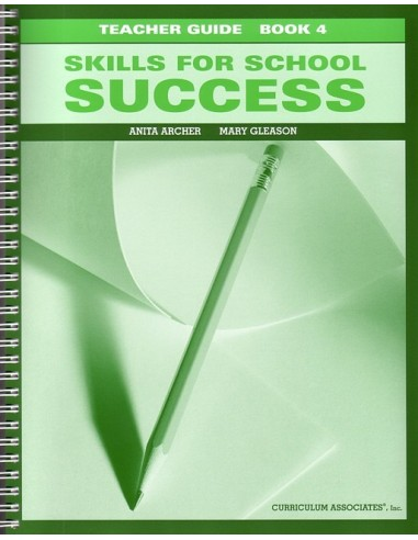 Skills for School Success Bk 4 Teacher Guide