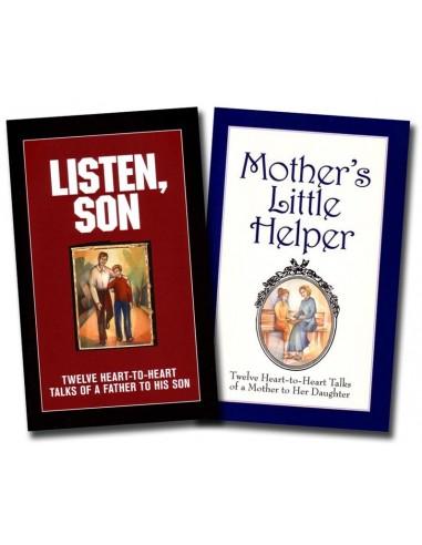 Listen Son / Mother's Little Helper 2 Book Set