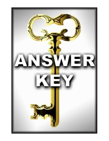 Bible History Answer Key (Schuster)