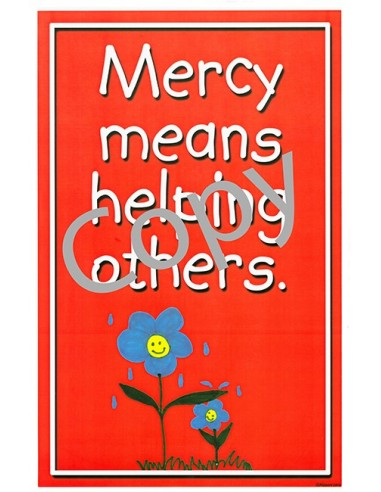 Mercy for Kids Mini-Posters