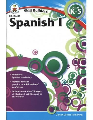 Skill Builders Spanish 1 (Grades K-5)