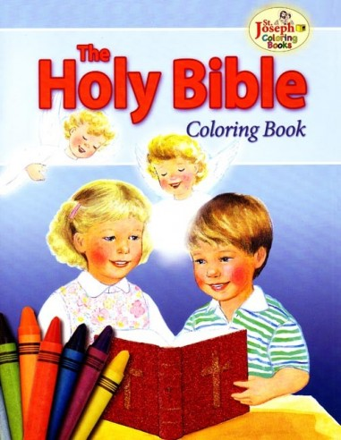 Coloring Book About the Bible