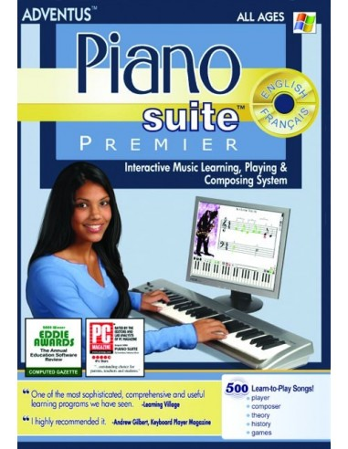 Piano Suite Premier Software