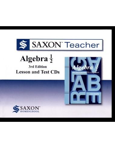Saxon Teacher Algebra 1/2 3rd Edition