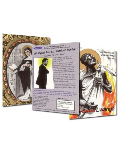 Holy Traders Set No. 2 Saint Trading Cards
