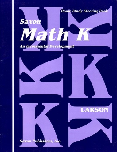 Saxon Math K Meeting Book