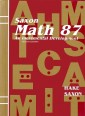 Saxon Math 87 (2nd edition) Text (Used)
