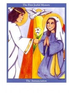 Mysteries of the Rosary Poster Cards