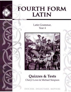 Fourth Form Latin Test and Quiz Book