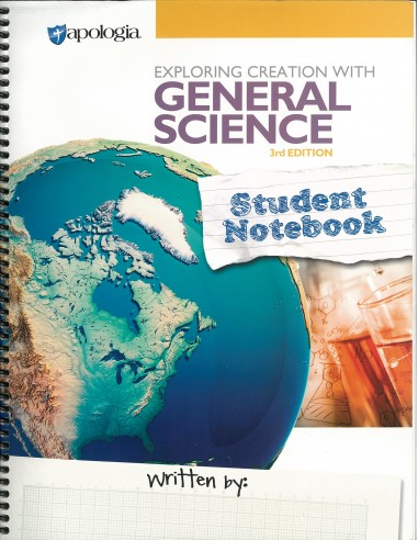 Exploring Creation w/ Gen. Science Student Notebook (3rd Ed.