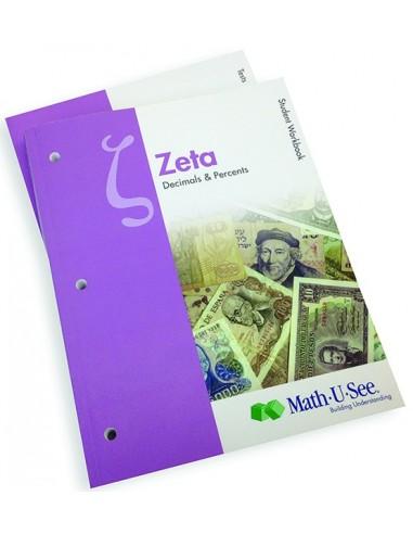 Math-U-See Zeta Student Pack