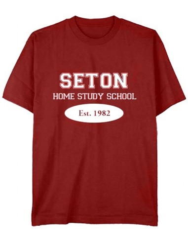 Seton T-Shirt: Est. 1982 Cardinal Red - Adult Large