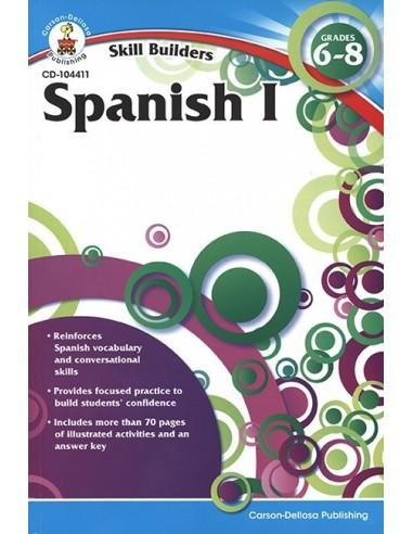 Skill Builders Spanish 1 (Grades 6-8)