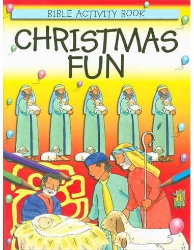 Christmas Fun Bible Activity Book