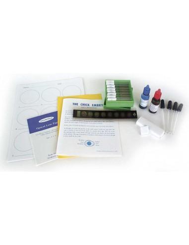 Biology Lab Set with Prepared Slides