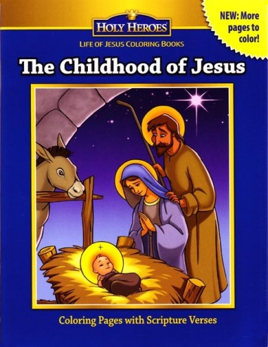 The Childhood of Jesus Coloring Book