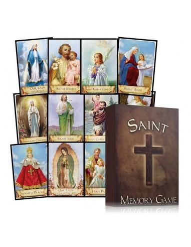 Saint Memory Card Game