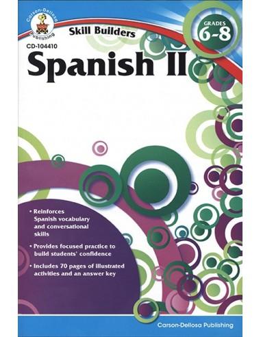 Skill Builders Spanish 2 (Grade 6-8)