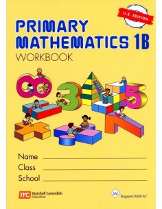 Singapore Math Grade 1 Workbook 1B