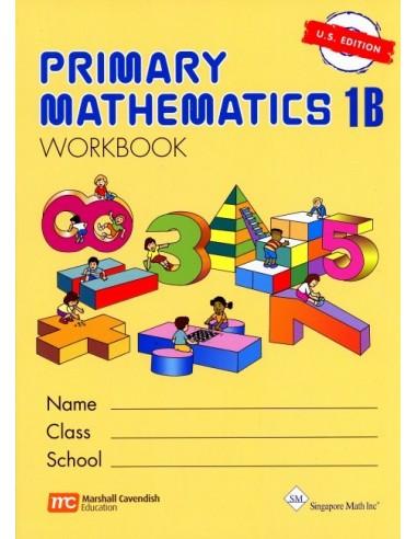 Singapore Math Grade 1 Workbook 1B