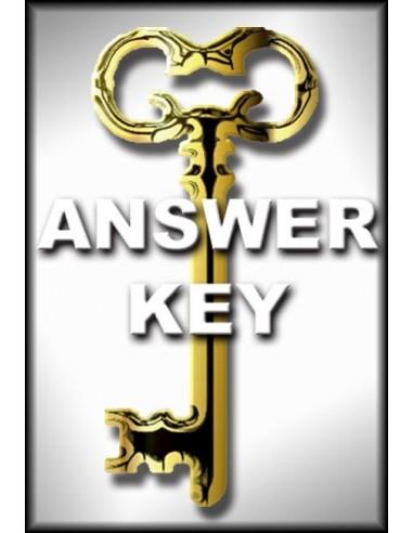 Economics Work and Prosperity 3rd Ed. Answer Key