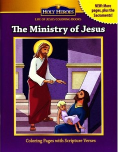 The Ministry of Jesus Coloring Book
