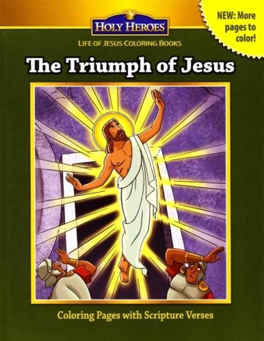 The Triumph of Jesus Coloring Book
