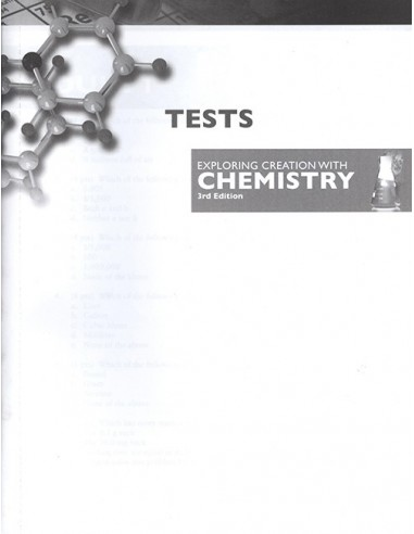 Expl. Creation w/ Chemistry 3rd Ed. Replacement Tests