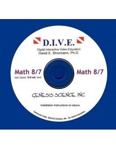 Math 87 (3rd ed/Homeschool) Dive Into Math CD