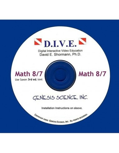 Math 87 (3rd ed/Homeschool) Dive Into Math CD
