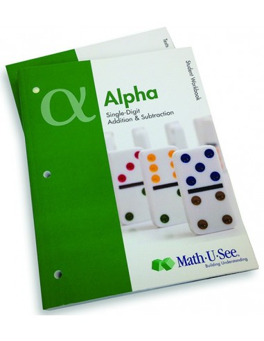 Math-U-See Alpha Student Pack