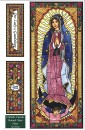 Mary Stained Glass Poster Cards