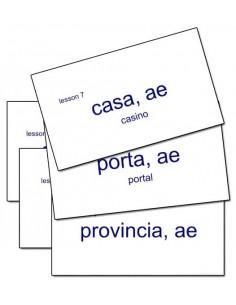 Latina Christiana II Flashcards