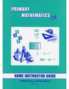 Singapore Math Grade 2 Home Instructor Guide 2B
