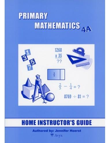 Singapore Math Grade 4 Home Instructor Guide 4A