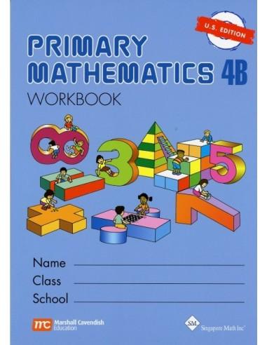 Singapore Math Grade 4 Workbook 4B