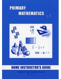 Singapore Math Grade 4 Home Instructor Guide 4B